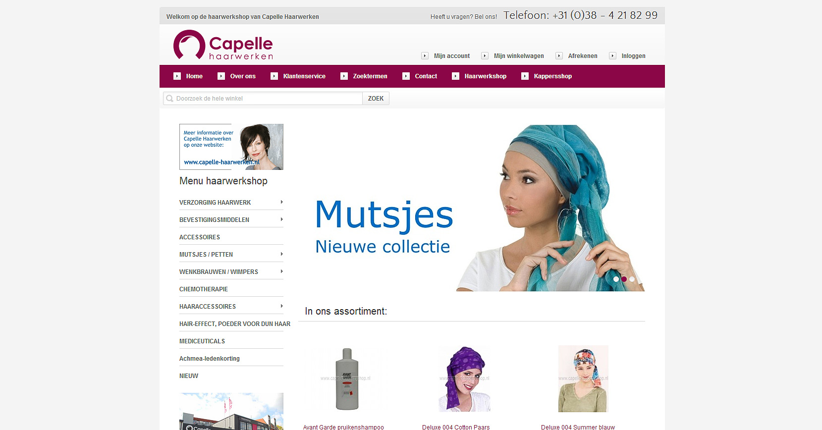 magento webshop capelle zwolle