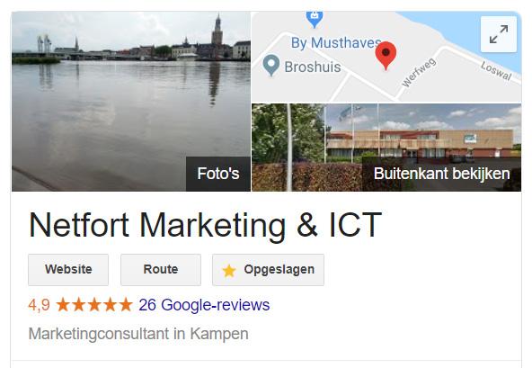 Google beoordelingen voor je webshop