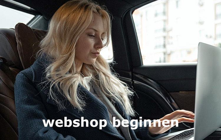 webshop beginnen